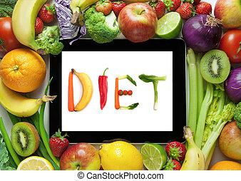 plan, dieet, recepten