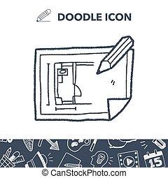 plan, doodle