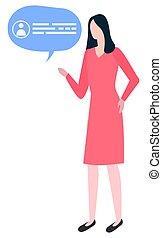 plan, empresa / negocio, burbuja, mujer, cómo, escribir,...