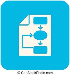 plan, empresa / negocio, icono