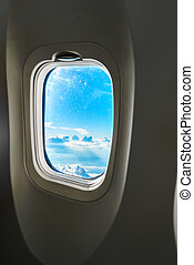 plan, fönster