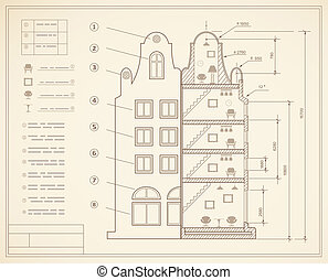 Plan facility and engineering print out home