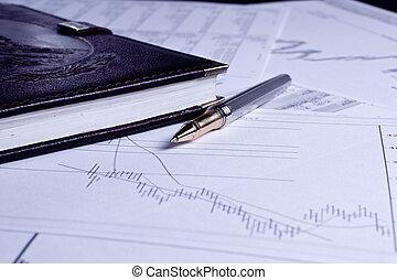 plan financier, business