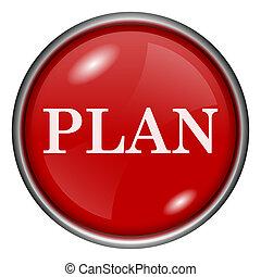 plan, ikon