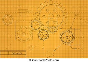 plan, illustration
