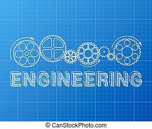 plan, ingénierie