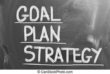 plan, meta, estrategia, concepto