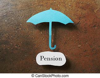 plan, pension