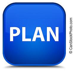 Plan special blue square button