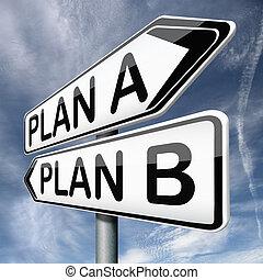 plan, un, o, b