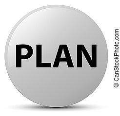 Plan white round button