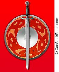 planche, épée