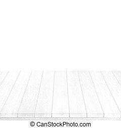 plancher, bois, intérieur, fond, salle, noël., blanc