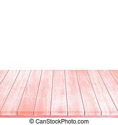 plancher, noël., fond, rouges, intérieur, salle, bois