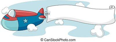 Plane Banner