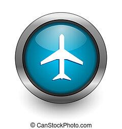 plane button