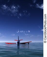 Plane Crash In Sea