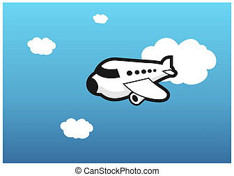 Plane - Illustration of a plane