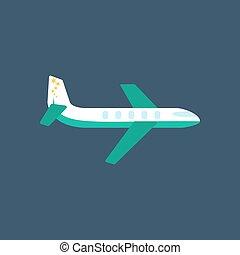 Plane illustration vector
