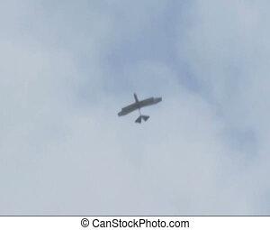Plane in the sky