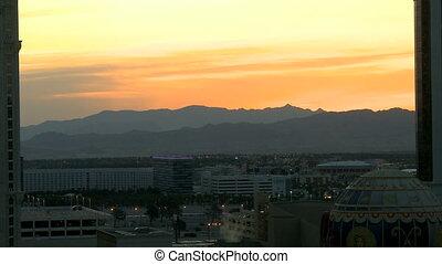 Plane landing Las Vegas - An airplane is approching Las...