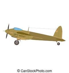 Plane retro airplane vintage vector travel aircraft air aviation