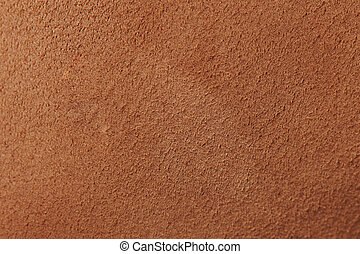 Plane surface of brown leather background