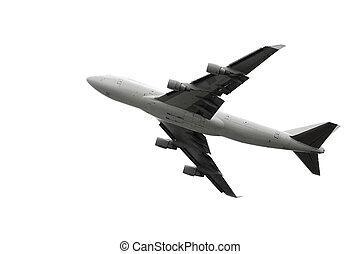 Plane taking off