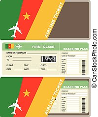 Plane ticket first class in Cameroon