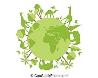 planeet, dieren, dier