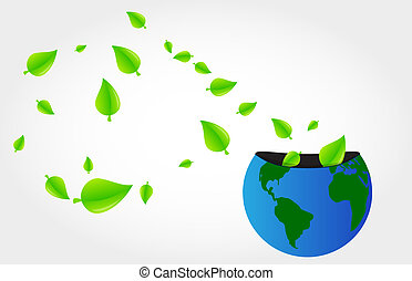 planeet, groene