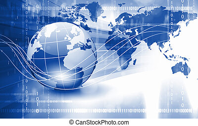 planeet land, en, technologie, achtergrond