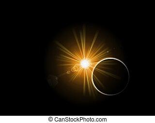 planeet, zon