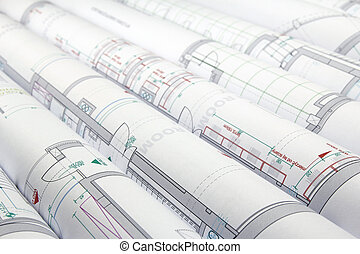 planer, arkitektonisk
