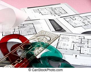 planerande, arkitektur