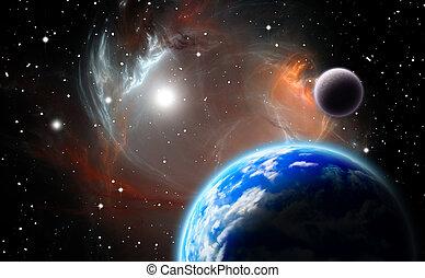 planetário, alternativa, sistema