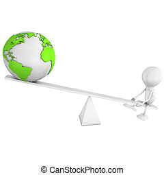 planet, balansering