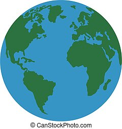 Planet earth america