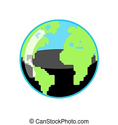 Planet Earth and oil resources. World Petroleum reserves....
