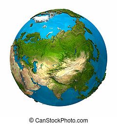 Planet Earth - Asia