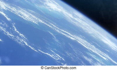 Planet Earth from Space - B - Lovely shot of planet Earth...