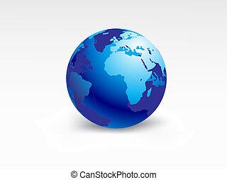 planet earth-globe