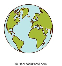 planet earth icon image