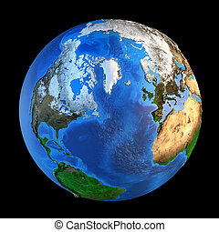 Planet Earth landforms from a Northern perspective - ...