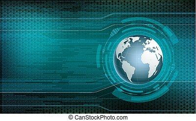 digital technology background