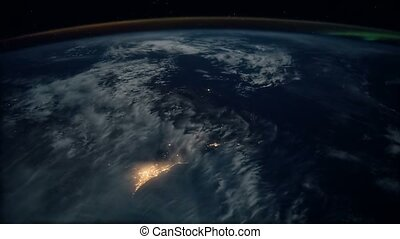 Planet Earth seen from the ISS. Beautiful Planet Earth...