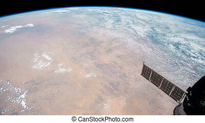 Planet Earth seen from the the International Space Station...