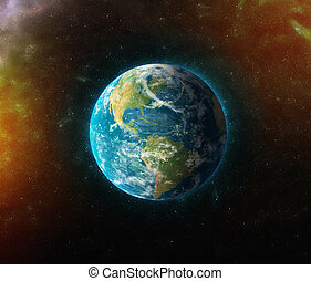 planet earth   3d illustration