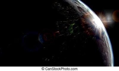 Planet earth, universe