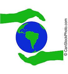 planet, grønne